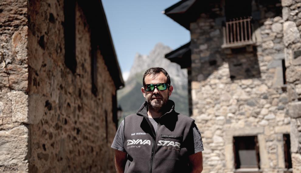 Sergio Sariñena, zaragozano que se ha mudado a Lanuza