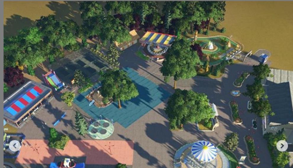 Recreación del Parque de Atracciones