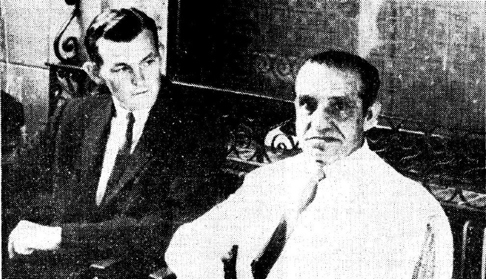 Fulton, con el maestro Juan Belmonte
