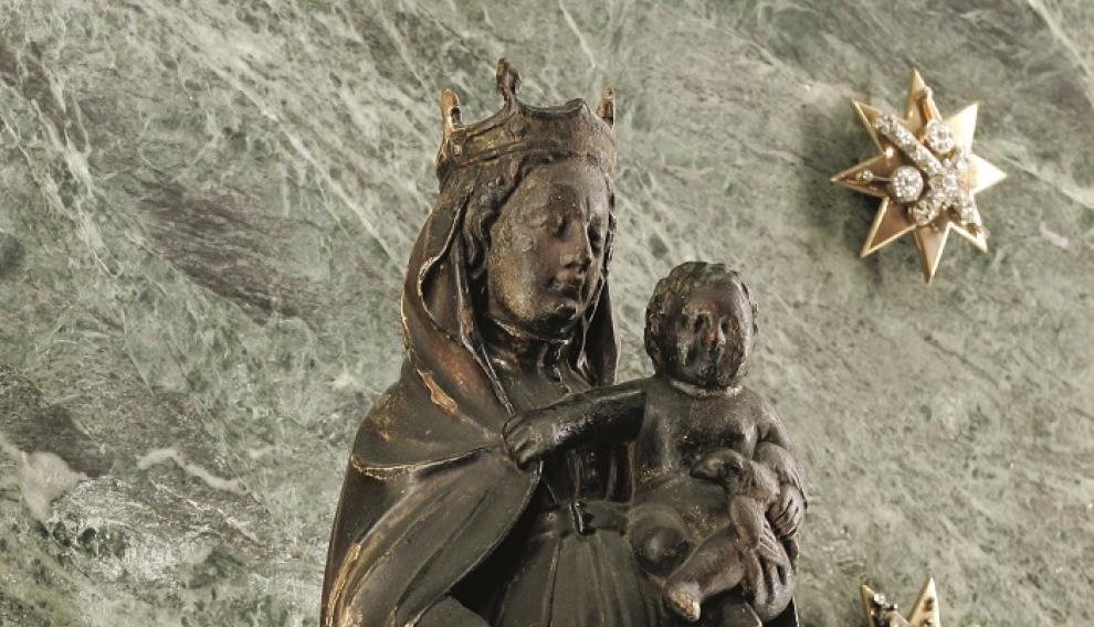 La Virgen del Pilar con el niño