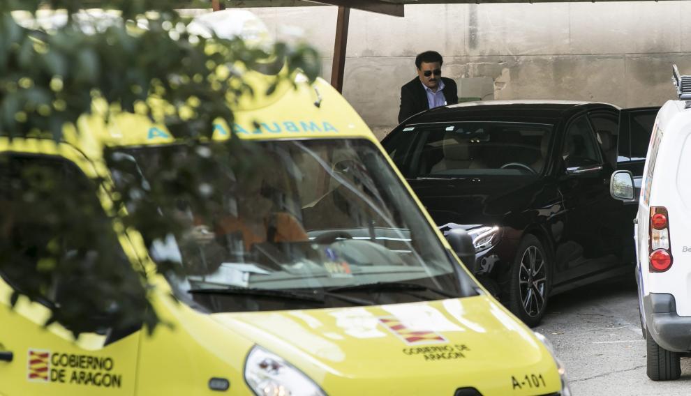 Un alto funcionario de la Embajada india se reunió con responsables de la DGA en Zaragoza en agosto del año pasado.