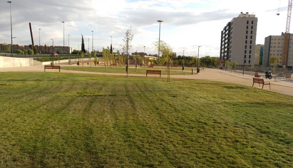 Parque que la AVV Barrio Jesús quiere que se bautice con el nombre de Ana María Suárez