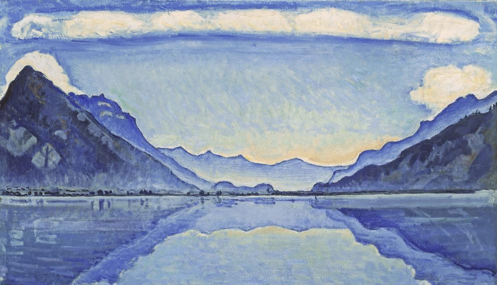 Obra de Ferdinand Hodler incluida en la exposición 'Azul. El color del modernismo'.