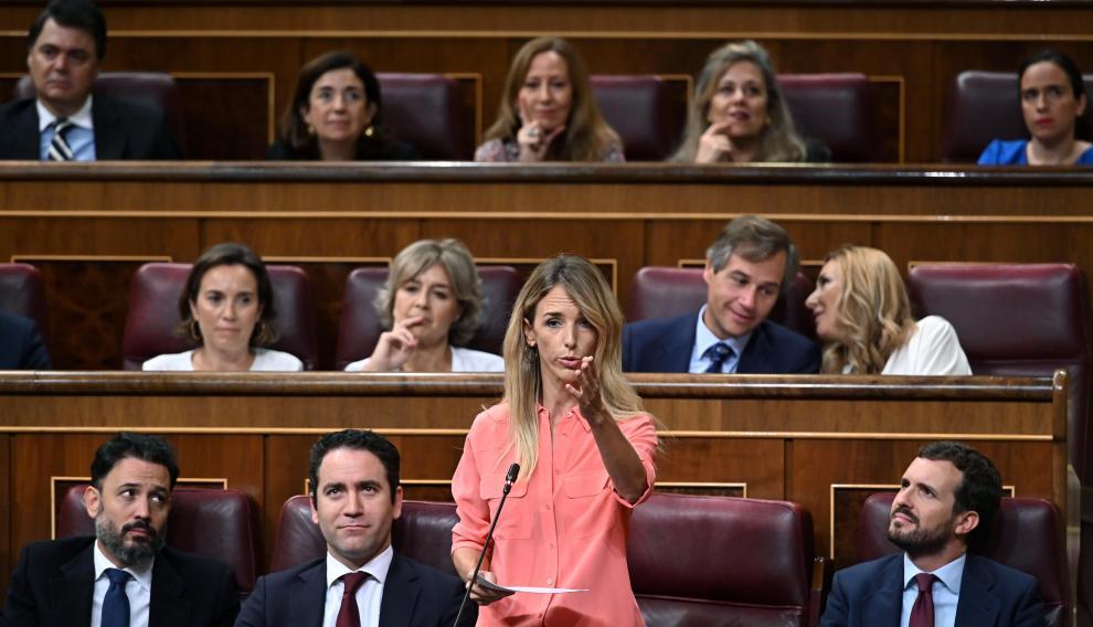 Sesión de Control en el Congreso