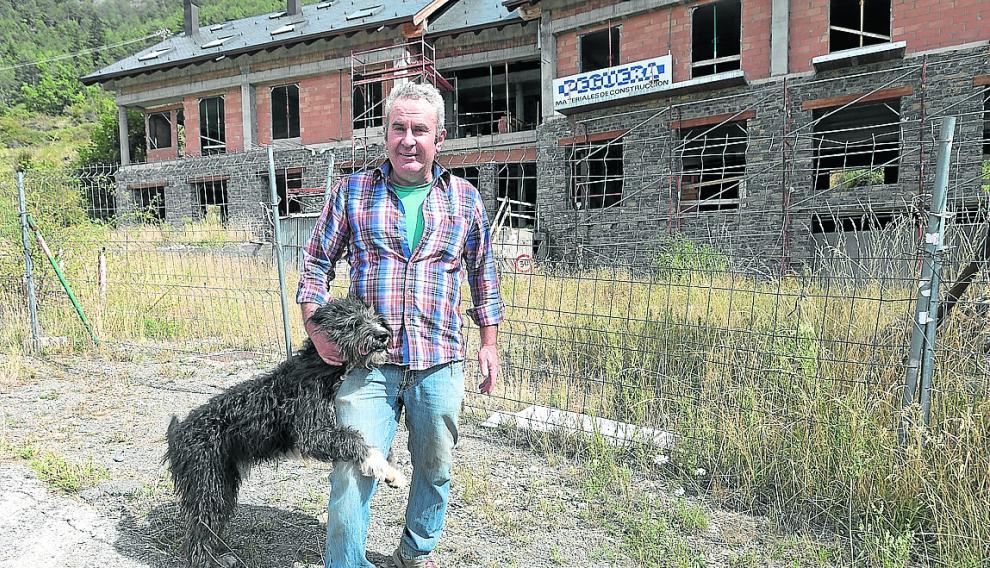 Javier Rich, vecino de Ardanuy, valle de Castanesa.