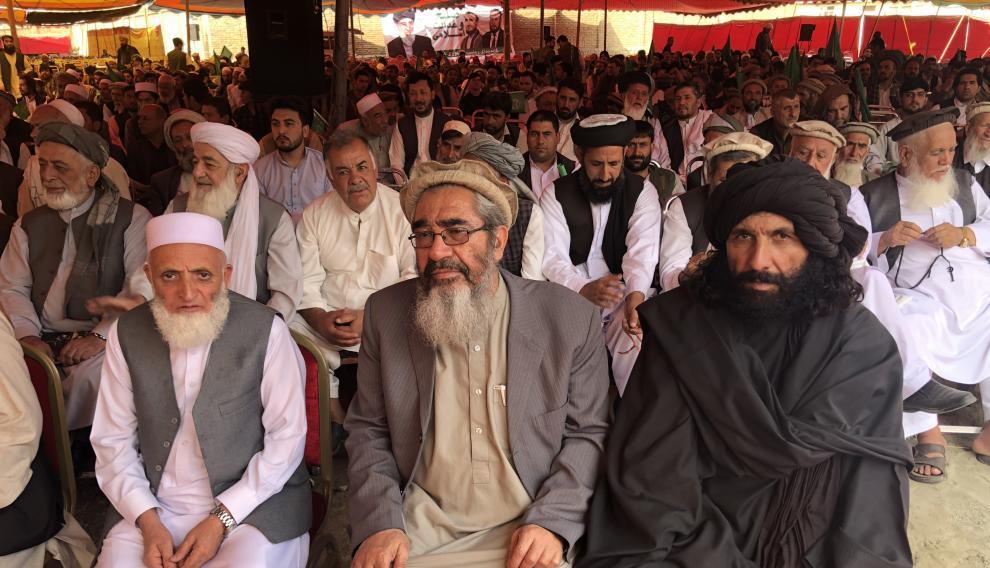 Simpatizantes de Hekmatyar, algunos de ellos, antiguos combatientes.