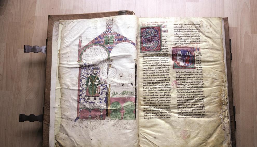 Documento que incluye la narración más antigua conservada de la Venida de la Virgen