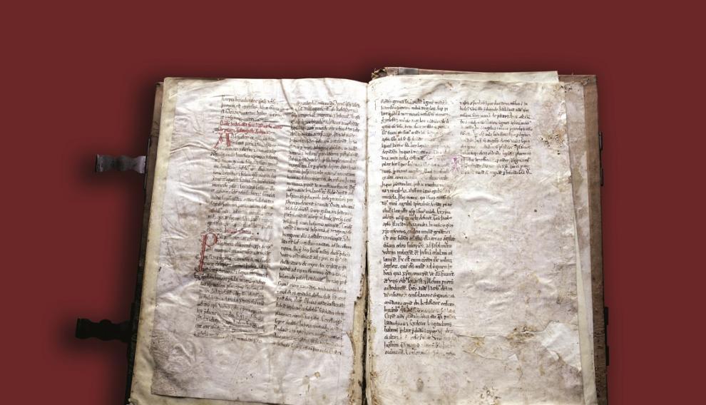 Documento que incluye la narración más antigua conservada de la Venida de la Virgen.