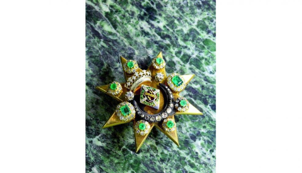 Estrella del camarín de la Virgen del Pilar