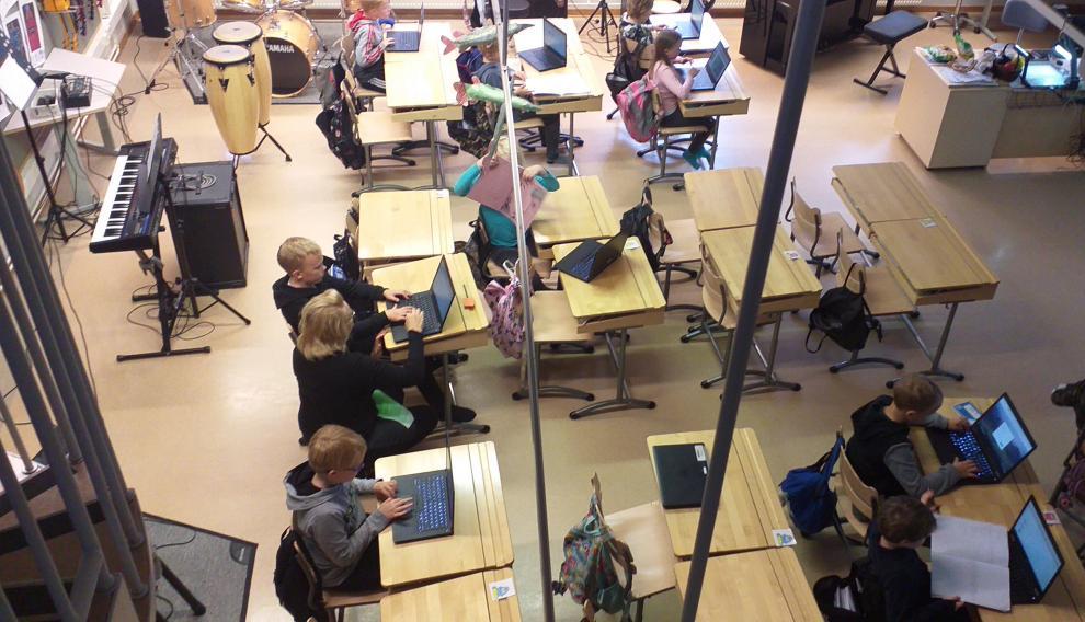 La inversión tanto en medios materiales como humanos es una constante en los centros educativos finlandeses