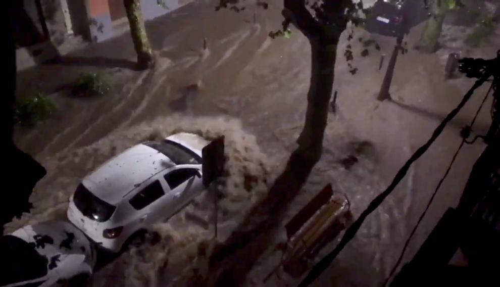 Temporal de lluvias en Cataluña