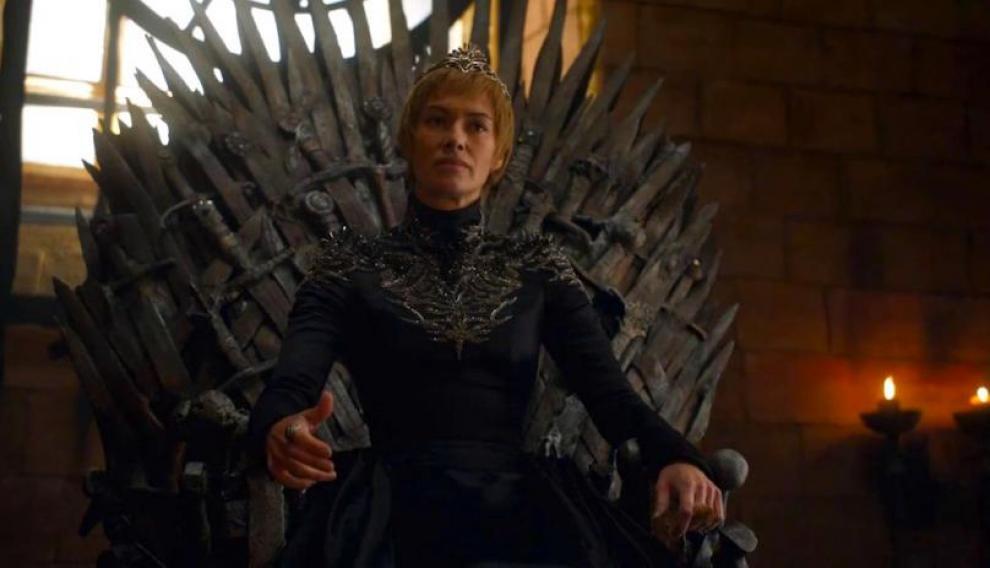El traje de cuero de Cercei Lannister que también forma parte de la exposición.