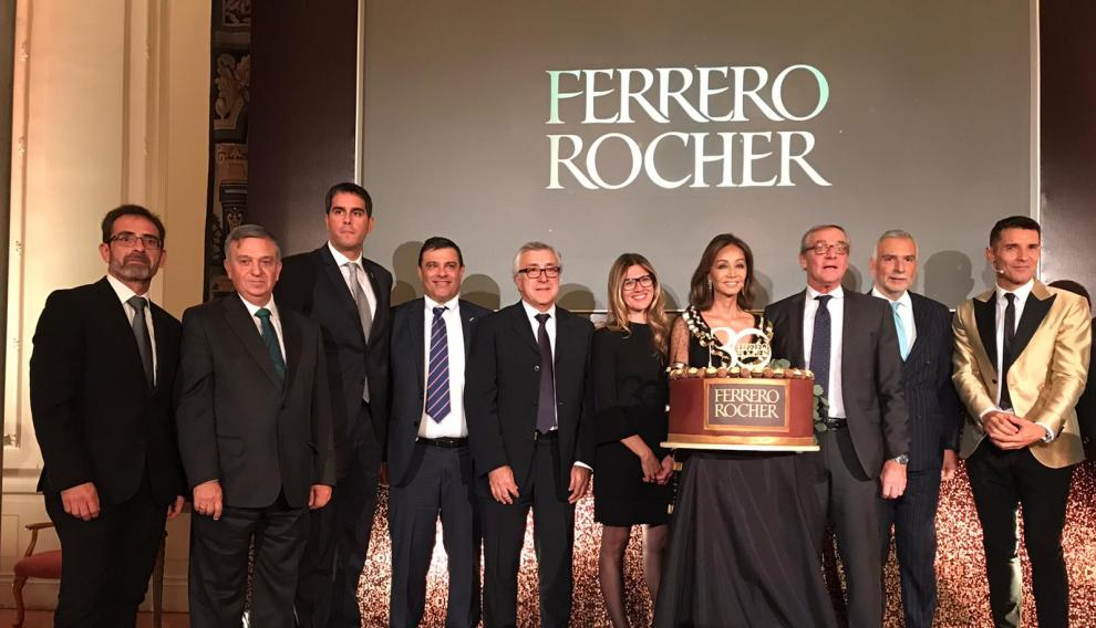 Valderrobres, protagonista de Ferrero Rocher