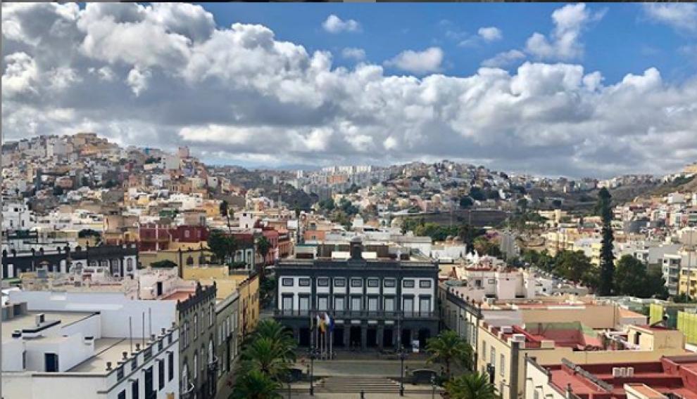 Barrio de Vegueta, en Las Palmas.