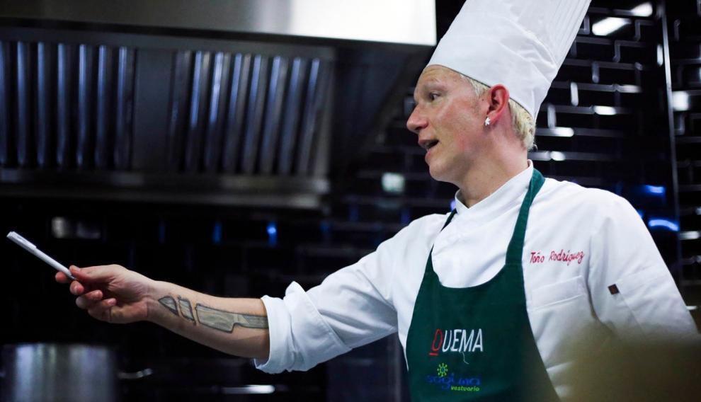 El restaurante Quema, de la mano de Toño Rodríguez, obtiene este reconocimiento en el Concurso Nacional de Tapas que se ha celebrado en Valladolid.
