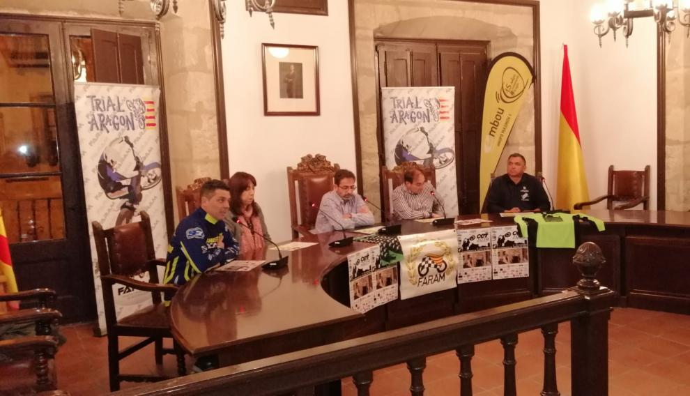 Presentación del Campeonato de España de trial en Valderrobres