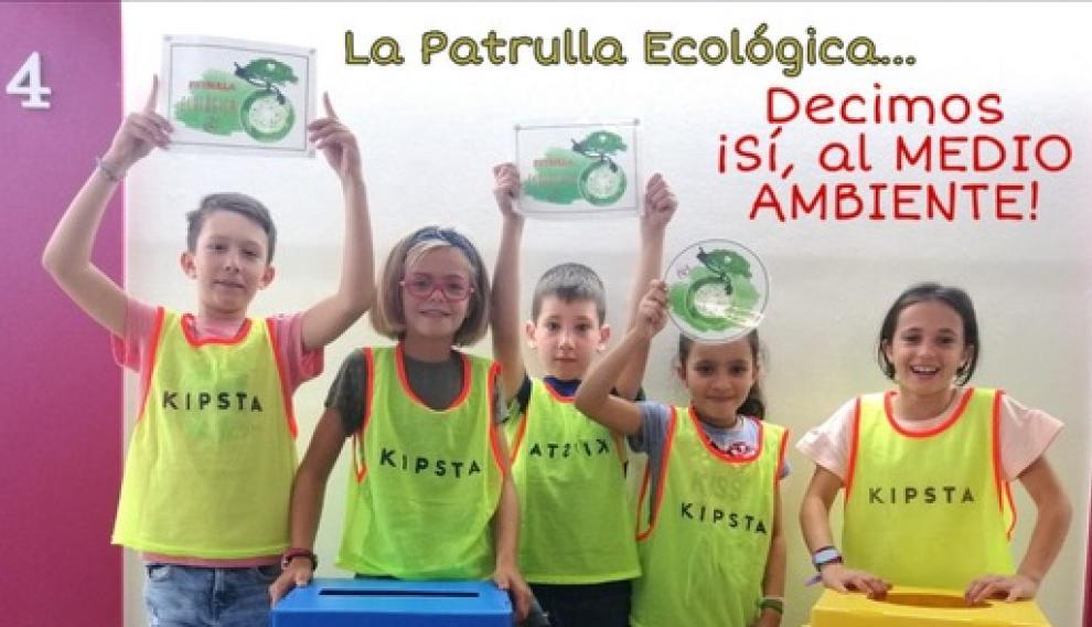 La patrulla ecológica dice sí al medioambiente.
