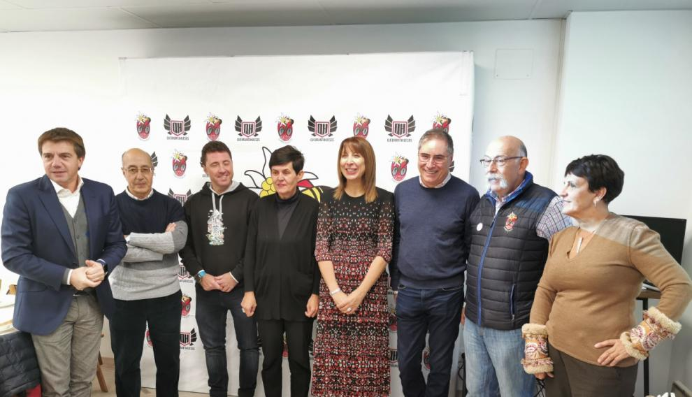 Asistentes a la presentación de la iniciativa QH Gastro, que se ha dado a conocer este martes en Sabiñánigo.