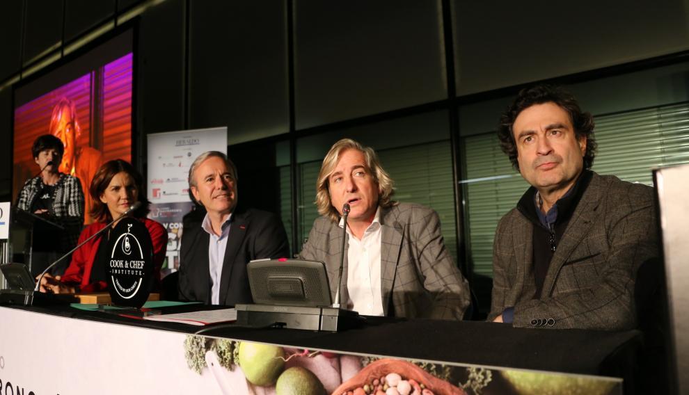 Vallejo, Azcón, Forcano y Rodríguez.