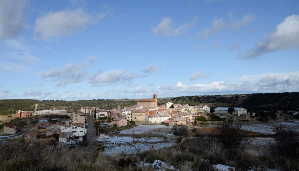Vista de La Zoma (Teruel).