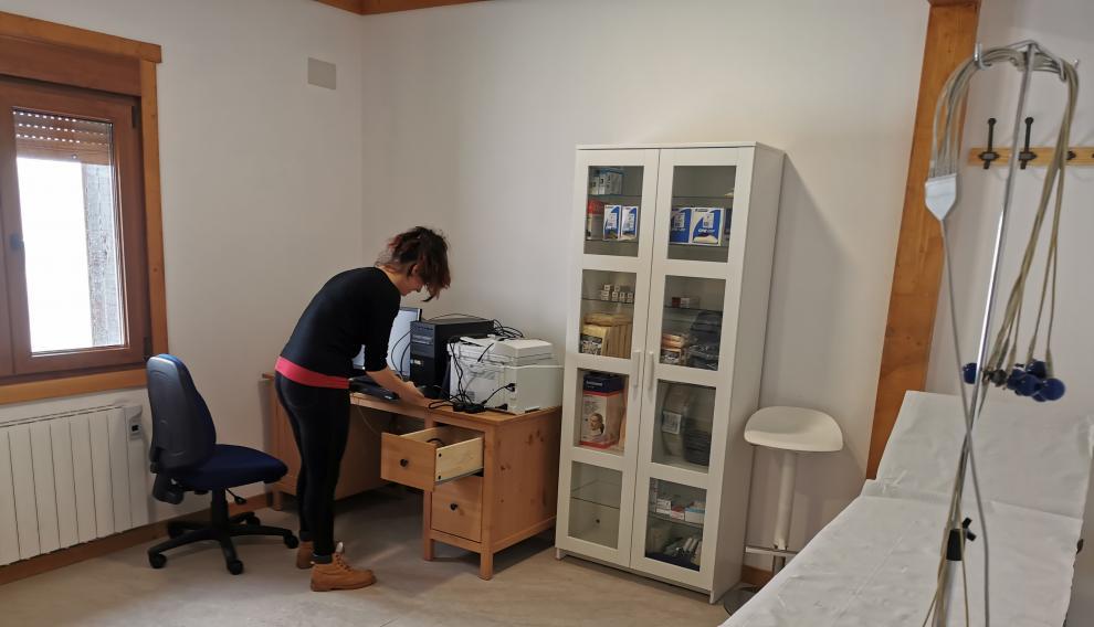 El consultorio médico de Candanchú.