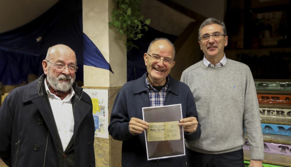 Gordo de Navidad en el colegio de San Viator de Huesca / 22-12-18 / Foto Rafael Gobantes [[[FOTOGRAFOS]]]