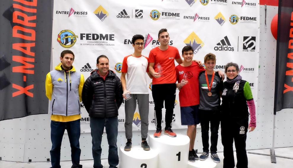 El turolense Enrique Beltrán ha ganado la Copa de España de Dificultad 2019