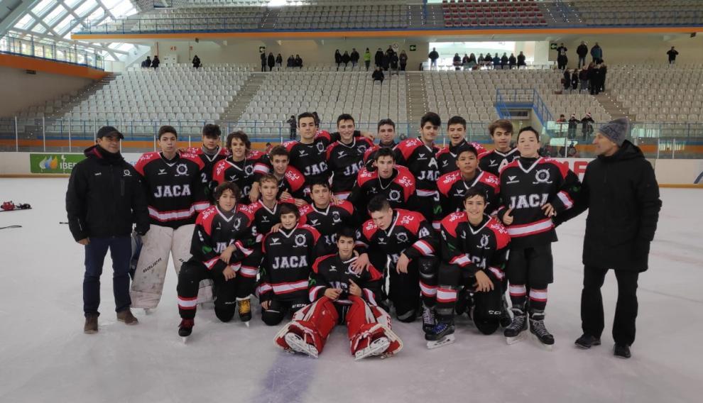 Equipo Sub 17 del C. H. Jaca