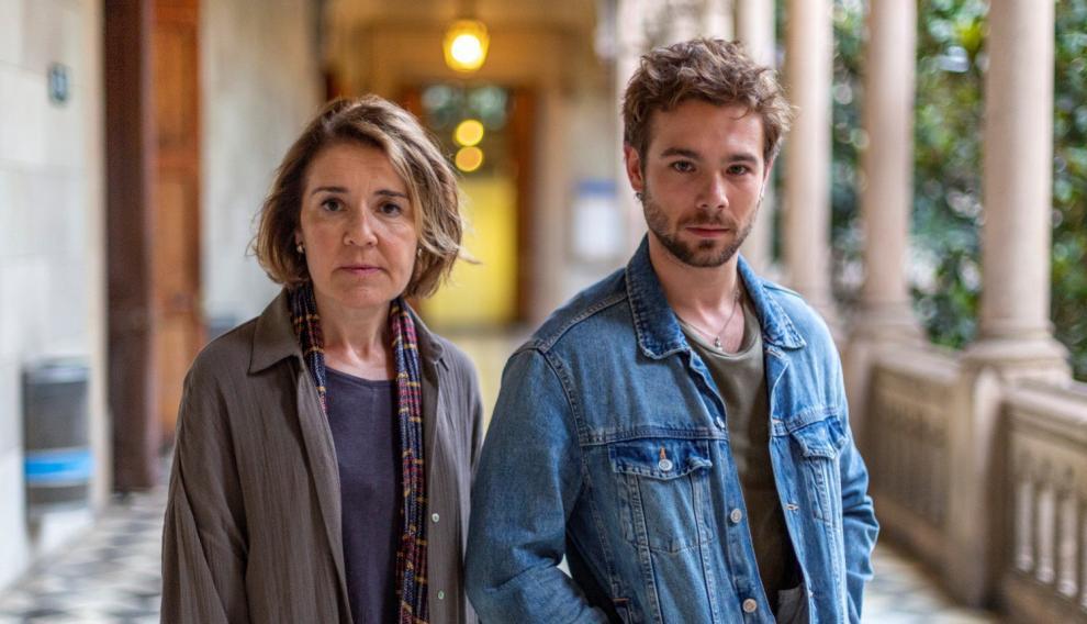 María Pujalte y Carlos Cuevas protagonizan el 'spin off' de 'Merlín'.