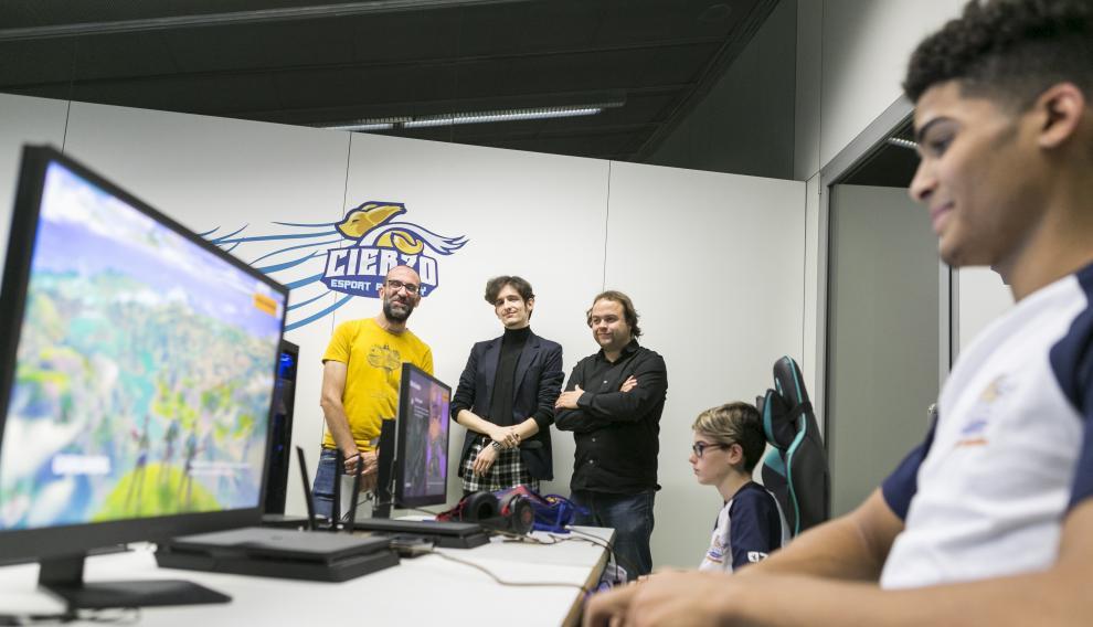 Reportaje sobre la Cierzo Esports Academy, la primera escuela pública de videojuegos.