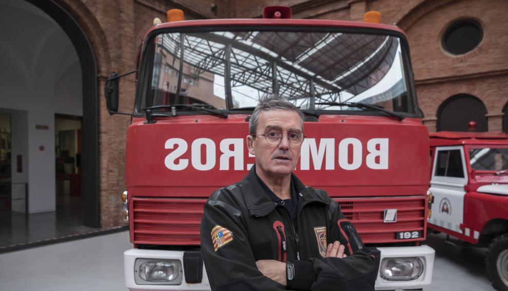 CarlosGracia, enfermero del cuerpo de Bomberos, intervino en el incendio de la discoteca Flying.