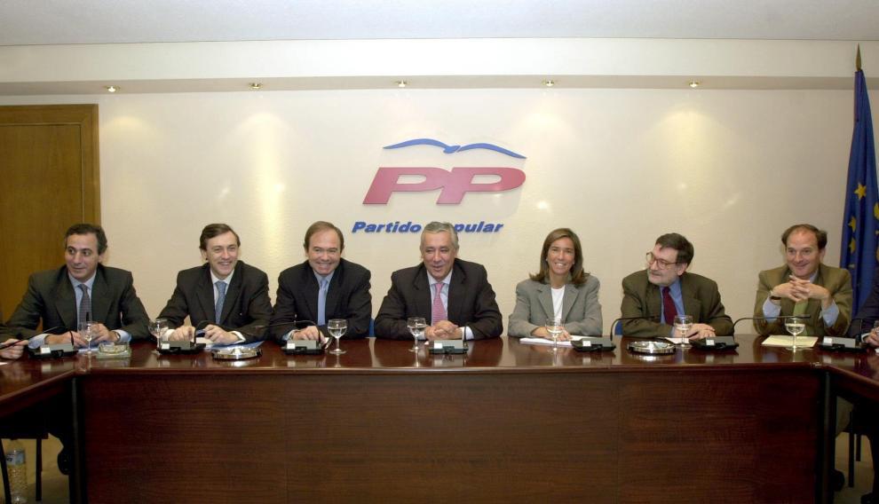 Jesús Sepúlveda (derecha) y Ana Mato fueron matrimonio y miembros de la Ejecutiva del PP