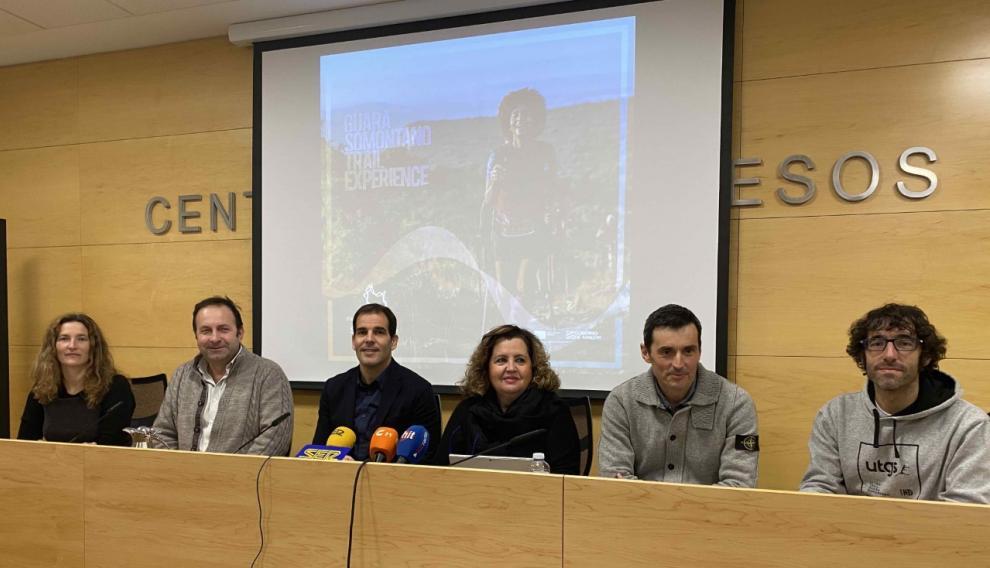 Presentación de Guara Trail Experience en Barbastro.