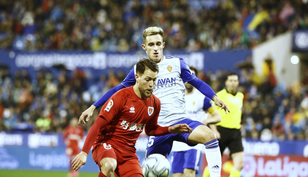Partido entre el Real Zaragoza y el Numancia