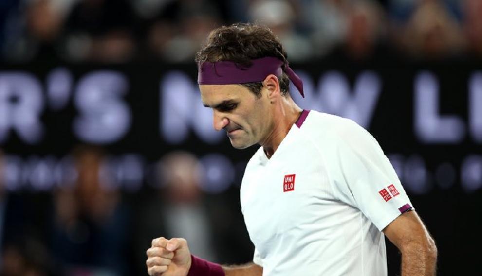 Federer remontón ante el húngaro Marton Fucsovics