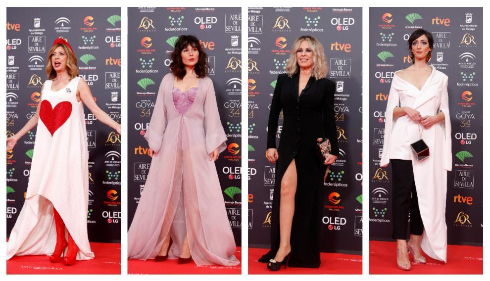Pilar Gómez, Nadia de Santiago, Miriam Diaz Aroca o Pilar Berges, entre las menos acertadas.