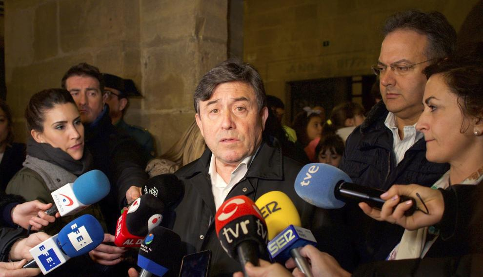 El delegado del Gobierno en La Rioja, José Ignacio Pérez Sáenz.