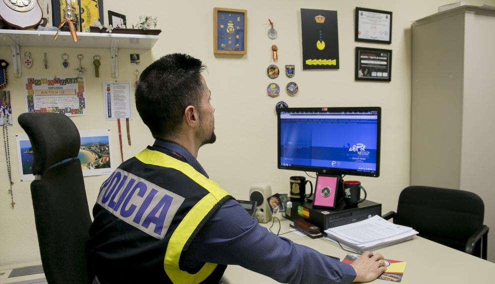 La Policía Nacional informa a otros cuerpos de seguridad sobre las desapariciones de personas.