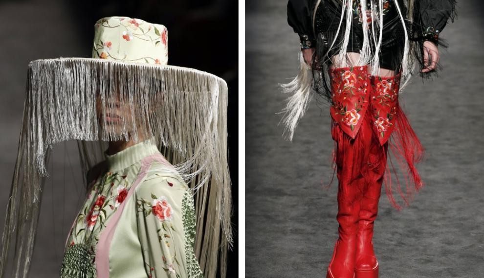 Desfile de Dominnico en la Fashion Week