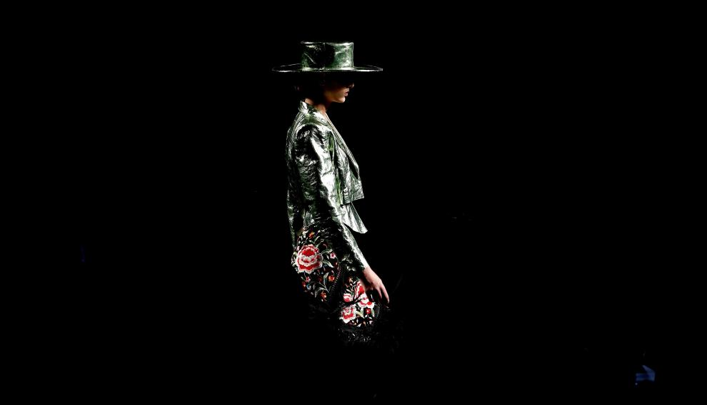 Desfile de Dominnico en la Fashion Week.