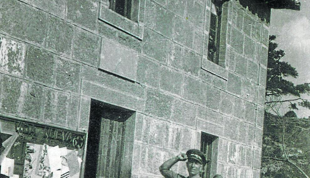 Antonio Beltrán, jefe de la División 43, que resistió la Bolsa de Bielsa en la Guerra Civil.