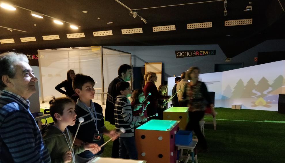 'Juguemos en Etopia', un espacio interactivo multisensorial