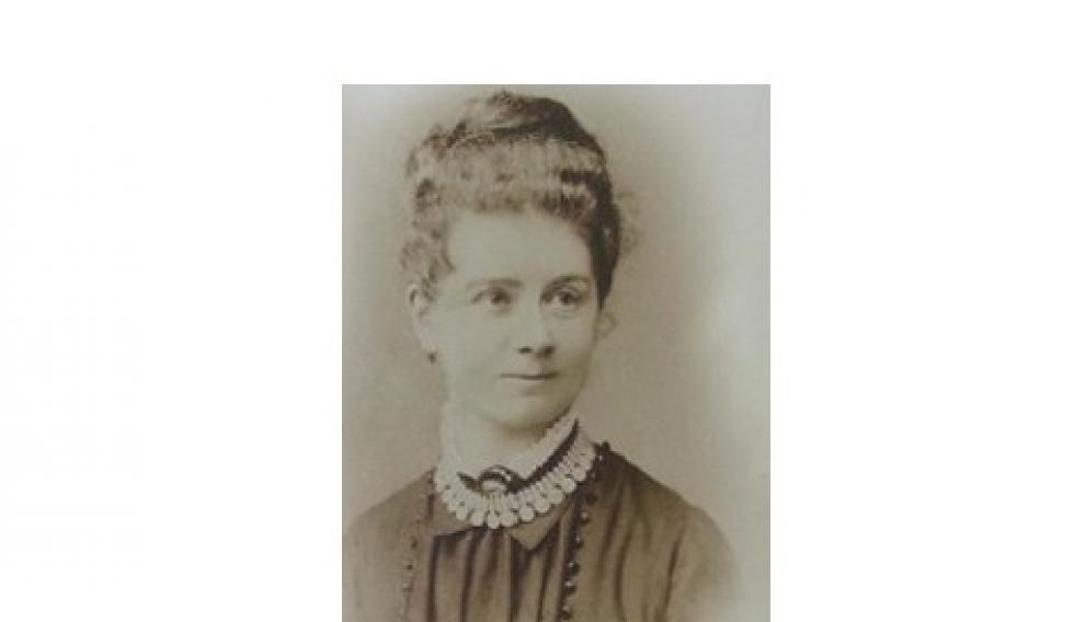 Retrato de Laura Forster a los 21 años.
