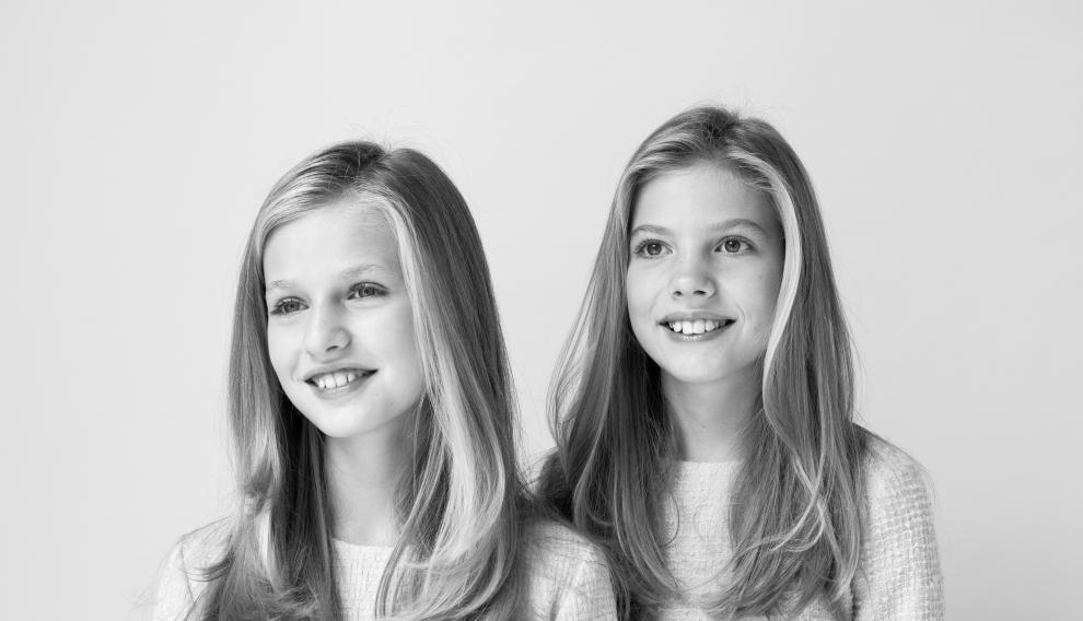 Nuevas fotografías oficiales de la Casa Real: Leonor y Sofía
