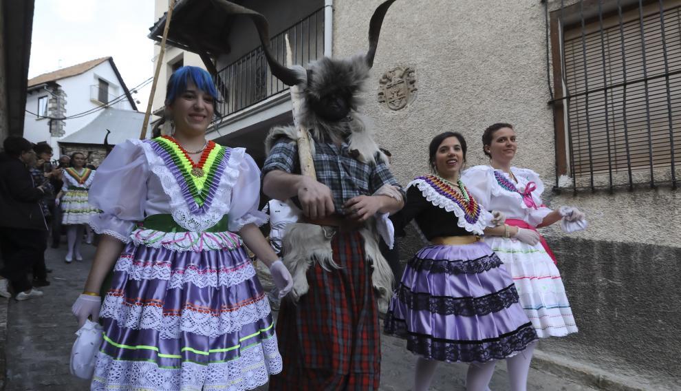 Carnaval de Bielsa / 2-3-19 /Foto Rafael Gobantes [[[FOTOGRAFOS]]] [[[HA ARCHIVO]]]