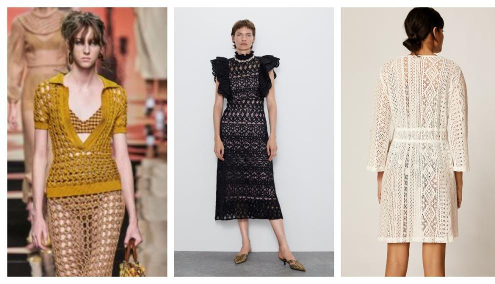Modelos de Burberry, Zara y Oysho.