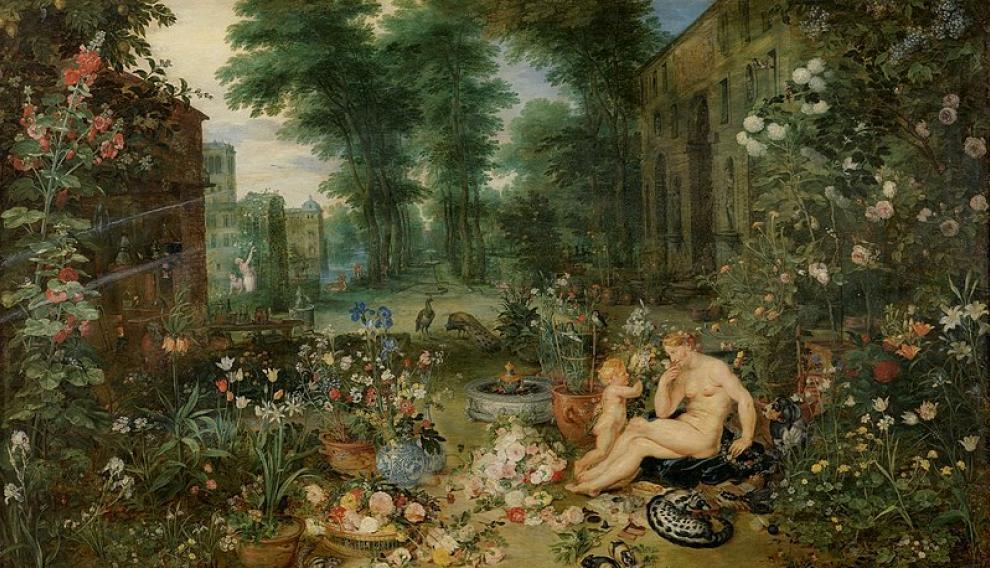 'El olfato', de Brueghel El Viejo.