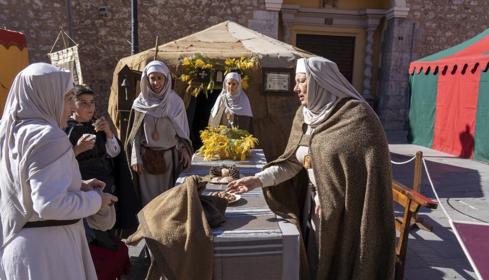 Ambiente en las calles de Teruel con motivo de Las Bodas de Isabel