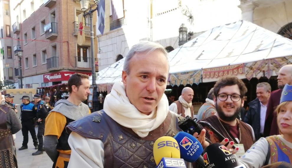 "Azcón siente ""envidia sana"" de Teruel"
