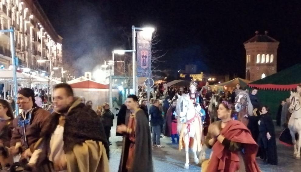 Jaime I ha llegado a Teruel.